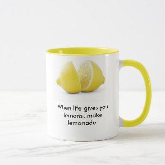 Leçon de citrons ! mug