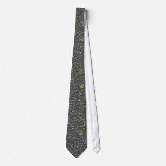 Leçons de maths cravate personnalisable