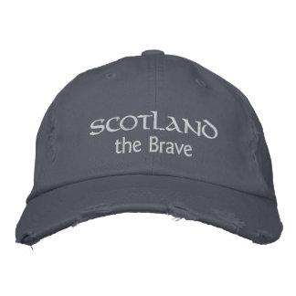 L'Ecosse le casquette courageux - montrez l'esprit Casquette Brodée