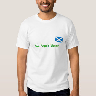 L'ECOSSE, pape onze T-shirts