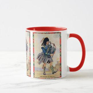 L'Ecosse vintage, suivent les cornemuses Mug