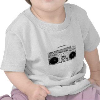 Lecteur de cassettes de la sableuse 80s de ghetto  t-shirt
