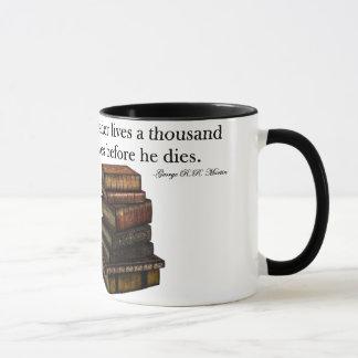 Lecture de la citation mug