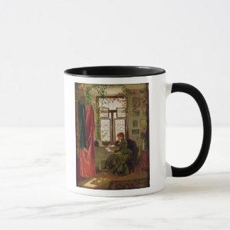 Lecture de la lettre mug
