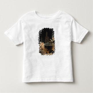 Lecture de la lettre t-shirt pour les tous petits