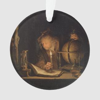 Lecture de philosophe d'alchimiste