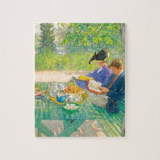 Lecture de vacances par Carl Larsson Puzzle