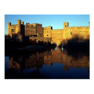 Leeds Castle, 12ème C., bastion normand et Cartes Postales