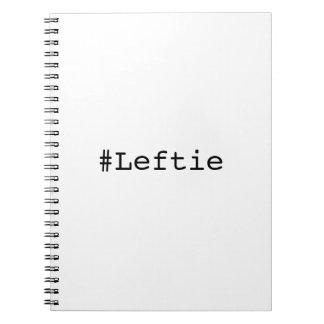 Leftie gaucher carnet