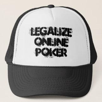 Légalisez le casquette en ligne de tisonnier