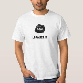 Légalisez le T-shirt de charbon