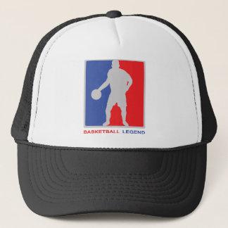légende de basket-ball casquette