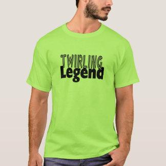 Légende de tournoiement t-shirt