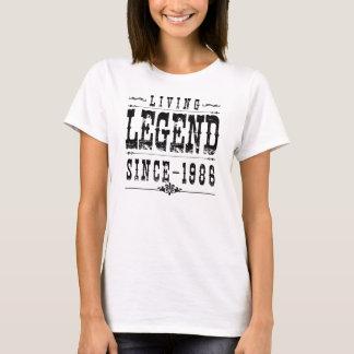 Légende vivante depuis 1986 t-shirt