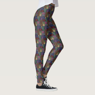 "Legging avec la conception ""de gradients de"