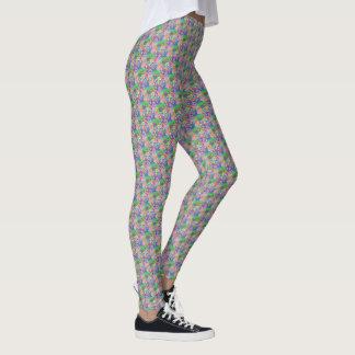 """Legging avec la conception en pastel de """"cercles"""""""