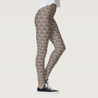"Legging avec sierra"" conception la ""de triangle"