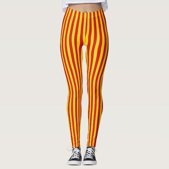 legging drapeau catalan