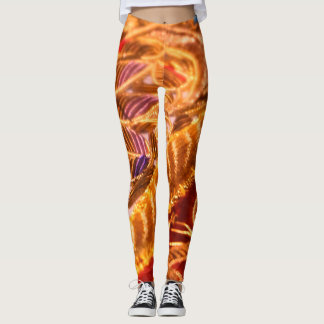 Leggings 365 jours de yoga. Jour 47. Firebirds.