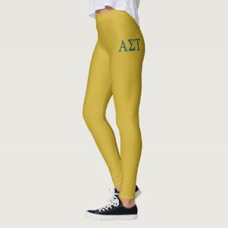 Leggings Alpha logo de Tau Lil de sigma grand