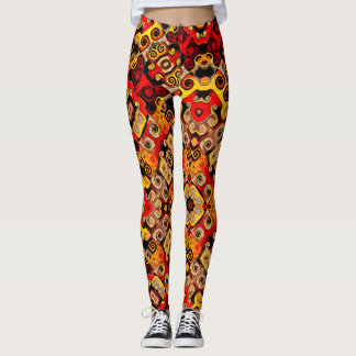 Leggings Aztèque inspiré