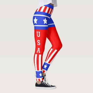 Leggings Bannière étoilée des Etats-Unis