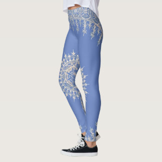 Leggings Bleu de Newport