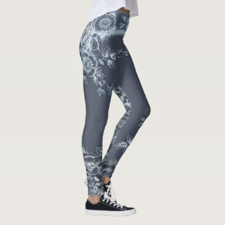 Leggings Bleu d'Inspirit