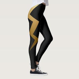 Leggings Boulon de foudre d'or