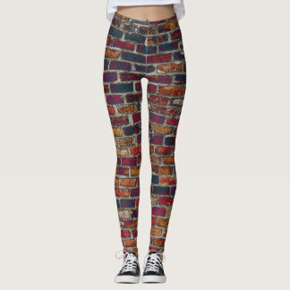 Leggings Brique violette construite
