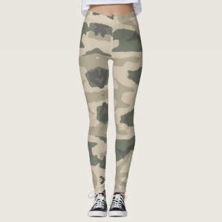 Leggings Camouflage Jah Army Jungle - pouvoirs Yoga