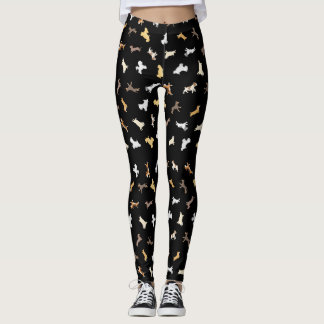 Leggings Chiens courants (grand motif)