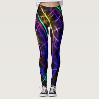 Leggings Connexions au néon
