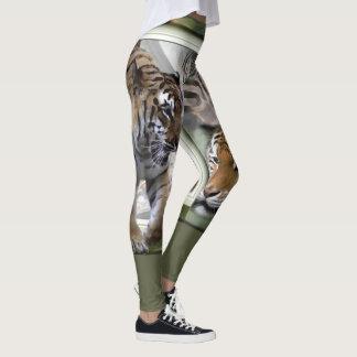 Leggings Copie de zèbre de girafe de tigre