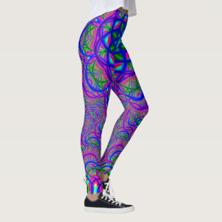 Leggings Couleurs de fractale