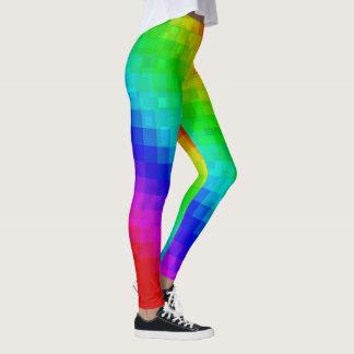 Leggings Dames étincelantes Legging. de tuile de mosaïque