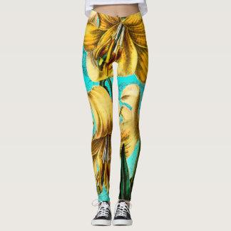 Leggings De tigre bleu lilly