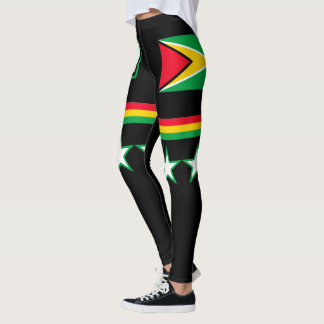 Leggings Drapeau de la Guyane