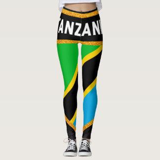 Leggings Drapeau de la Tanzanie