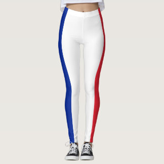 Leggings Drapeau français patriotique