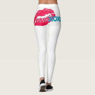 Leggings Embrassez le mon… Pantalon de bout droit
