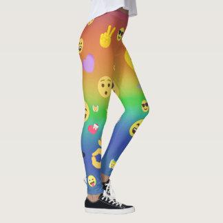 Leggings Emojis coloré