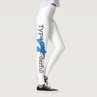 Leggings ESPOIR de conscience de ruban bleu de diabète de
