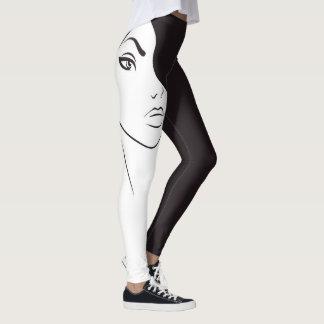 Leggings Femme de silhouette de puissance