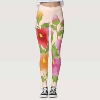 Leggings fleurs jolies