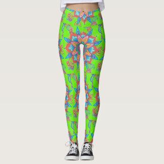 Leggings flowereon