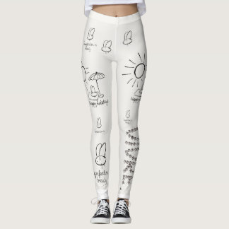 Leggings Fly happiness