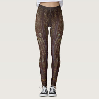 Leggings Forêt Barre de la Rouille
