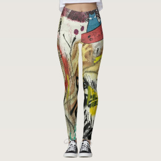Leggings Graffiti d'amusement