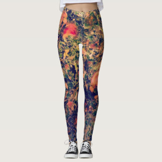 Leggings Guêtres abstraites